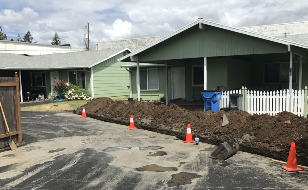 Sewer Lines - Storm Drains - Remodeling